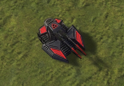 The Rhino Heavy Tank, Cybran Tech 2 Land Unit in Supreme Commander.
