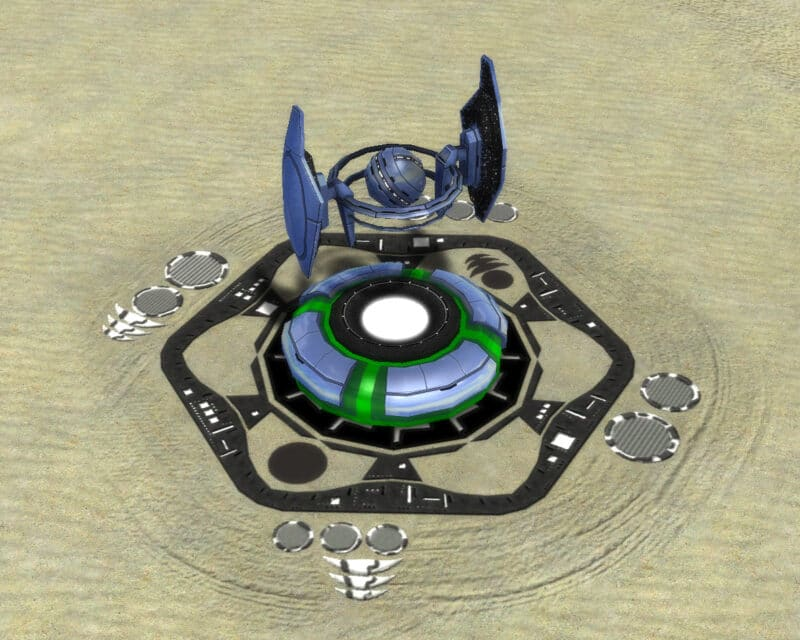 The Shield of Light Shield Generator (Inactive), Aeon Tech 2 Defensive Building in Supreme Commander.