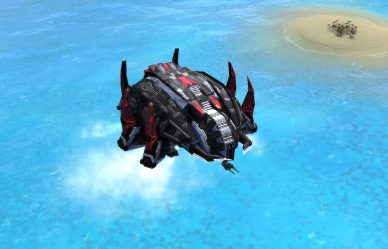 The Soul Ripper Gunship, Cybran Experimental Unit in Supreme Commander.