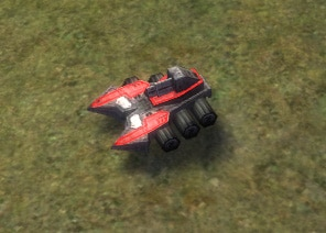The Sky Slammer Mobile Anti-Air Gun, Cybran Tech 1 Land Unit in Supreme Commander.