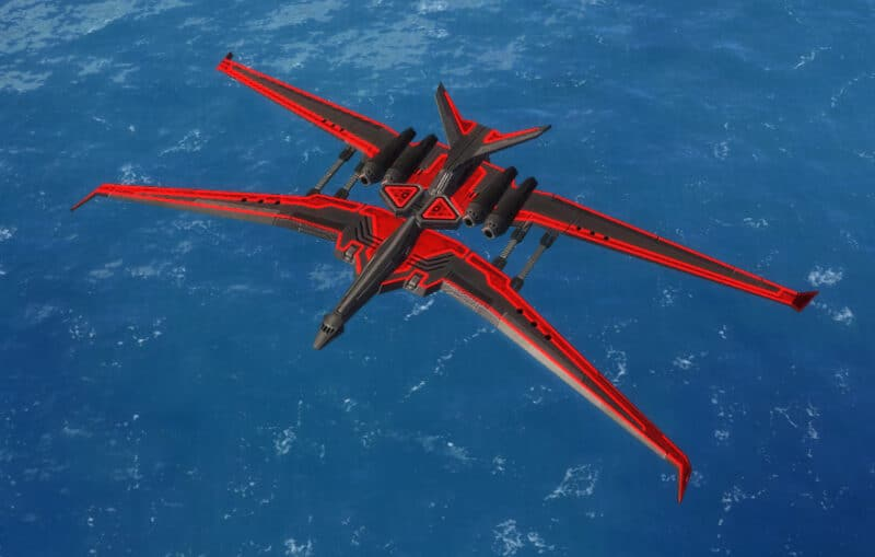 The Spook Spy Plane, Cybran Tech 3 Air Unit in Supreme Commander.
