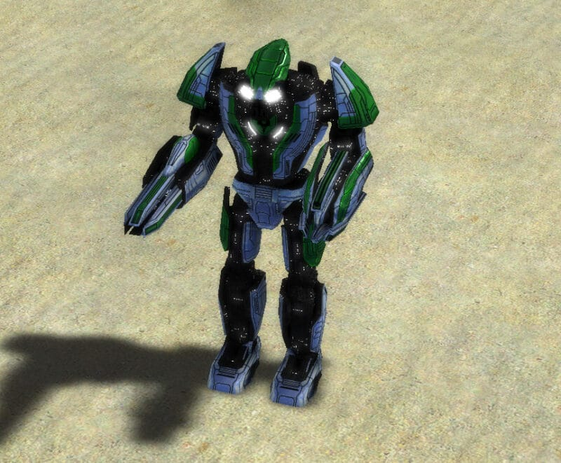 The Aeon Armored Command Unit in Supreme Commander.