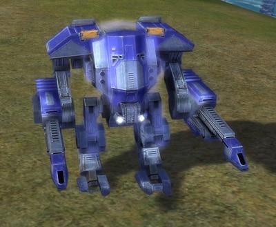 The Titan Siege Assault Bot, UEF Tech 3 unit in Supreme Commander.