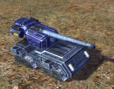 The Demolisher Mobile Heavy Artillery, UEF Tech 3 unit in Supreme Commander.