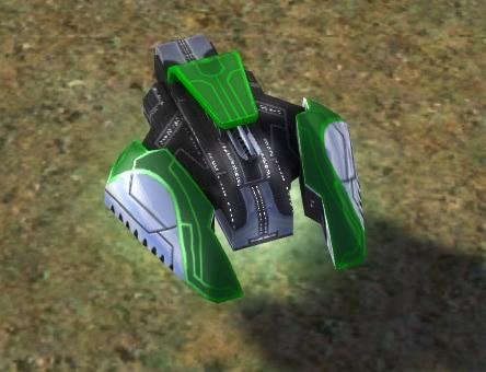 The Aurora Light Tank, Aeon Tech 1 Land Unit in Supreme Commander.