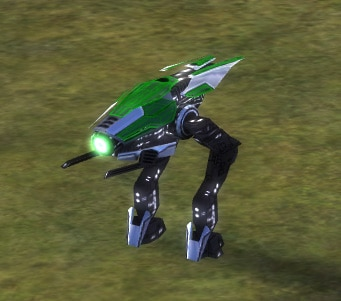 The Flare Light Assault Bot, Aeon Tech 1 Land Unit in Supreme Commander.