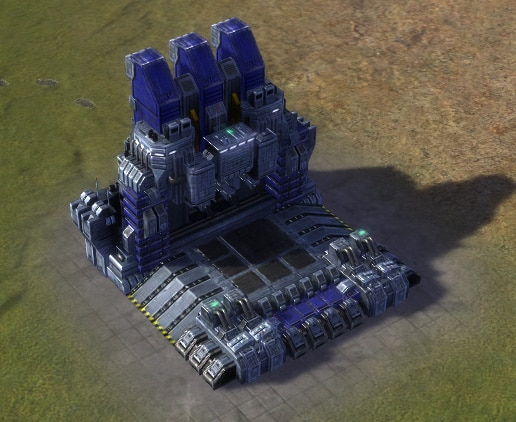 The T3 Land Factory, UEF Tech 3 economy building in Supreme Commander.