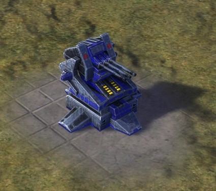 The Triad T2 Point Defense, UEF Tech 2 defense building in Supreme Commander.