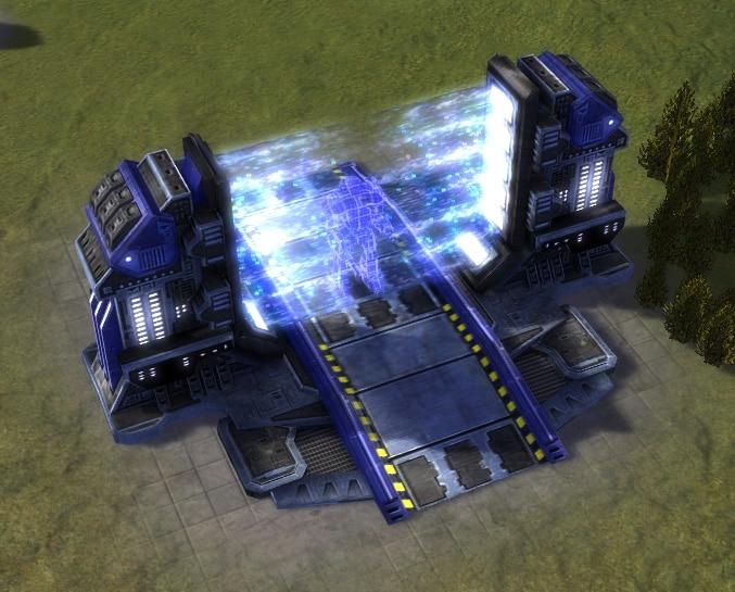The Quantum Gateway, UEF Tech 3 economy building in Supreme Commander.