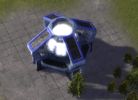 The T3 Mass Fabricator, UEF Tech 3 economy building in Supreme Commander.