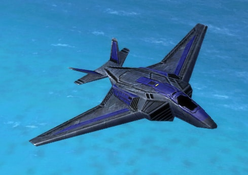 The Wasp Air Superiority Fighter, UEF Tech 3 air unit in Supreme Commander.